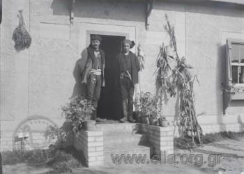 Πρώτη Διεθνής Έκθεσις Θεσσαλονίκης: Πόντιοι. Φωτογράφος: Γεώργιος Βαφιαδάκης (1926)