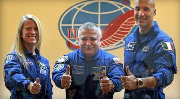 Στο διάστημα για ακόμη μια φορά ο Πόντιος αστροναύτης!