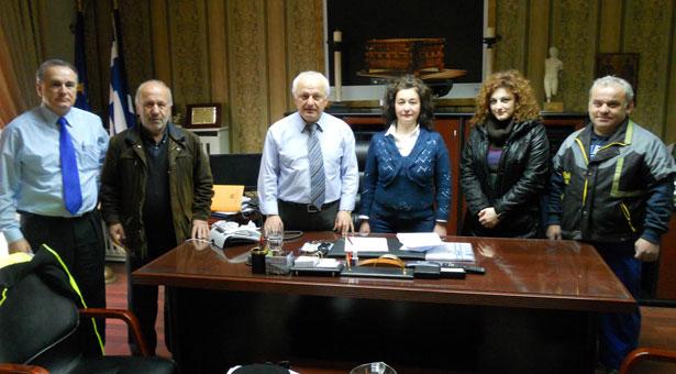 Εύξεινος Λέσχη Βέροιας: Συνάντηση με τον Αντιπεριφερειάρχη