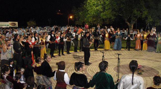 Δείτε τι έγινε στην αναβίωση του εθίμου του Κλήδονα από την Εύξεινο Λέσχη Βέροιας