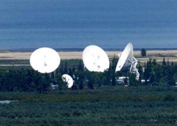 Εγκατάσταση χερσαίου δορυφορικού σταθμού στην Κύπρο