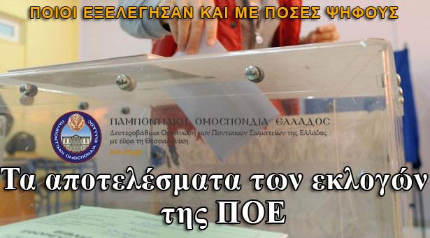 Τα αποτελέσματα των εκλογών της Παμποντιακής Ομοσπονδίας Ελλάδος!