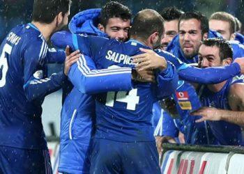 Σλοβακία - Ελλάδα 0-1 Μουντιάλ ερχόμαστε...