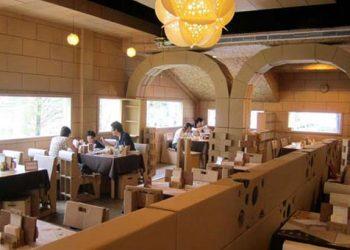 Εστιατόριο φτιαγμένο αποκλειστικά από… χαρτί!
