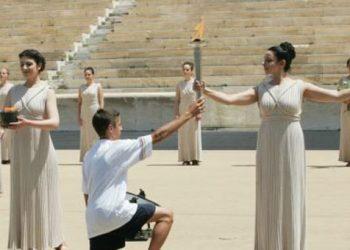 Η Φλόγα για το Χειμερινό Ολυμπιακό Φεστιβάλ