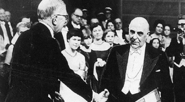 10 Δεκεμβρίου 1963: Νόμπελ λογοτεχνίας για τον Γιώργο Σεφέρη