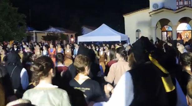Χαμός στην ποντιακή συναυλία στην Παναγία Γουμερά. Βίντεο