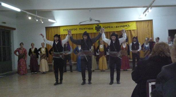 16 Ιουν 2013: Ετήσιος χορός του Συλλόγου Ποντίων Καρέα - Βύρωνα