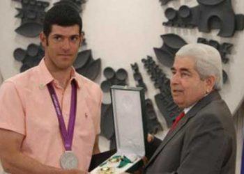 Τιμήθηκε ο Ολυμπιονίκης Παύλος Κοντίδης
