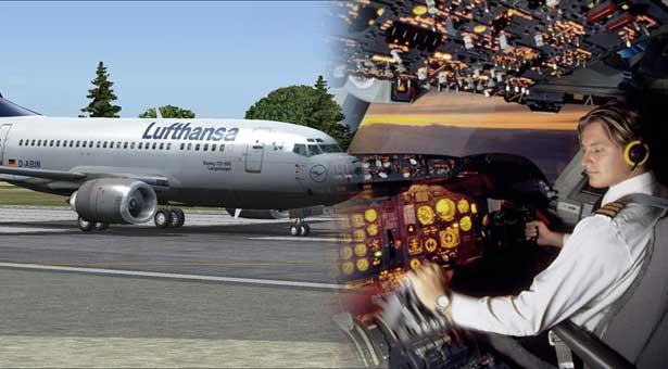 Παριστάνοντας τον πιλότο