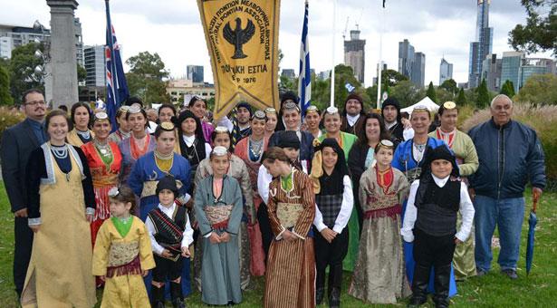 Η Ποντιακή Εστία Μελβούρνης στην παρέλαση της 25ης Μαρτίου. Φωτογραφίες