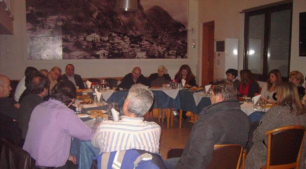 Η συνάντηση των Πολιτιστικών Συλλόγων στην Εύξεινο Λέσχη Νάουσας