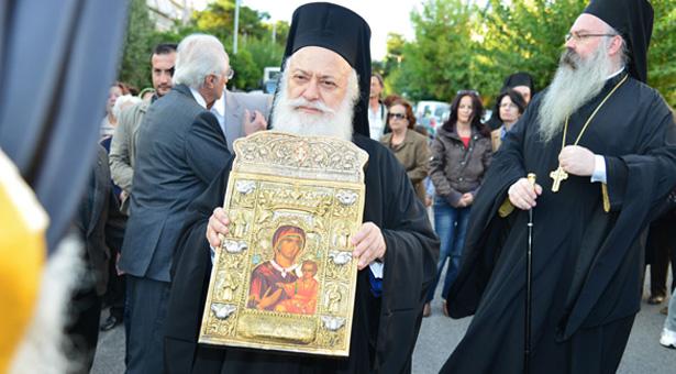 Εκπληκτικό βίντεο από την υποδοχή της Παναγίας Σουμελά στην Αργυρούπολη