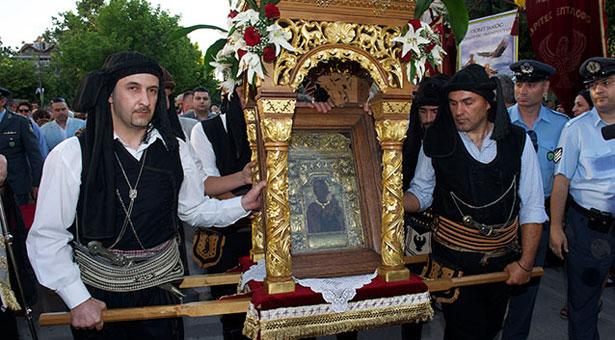 Η θαυματουργή Εικόνα της Παναγίας Σουμελά στο Κιλκίς