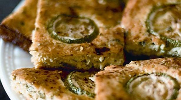 Πίτα - Μπουρέκι με πατάτες, κολοκύθια και μυζήθρα
