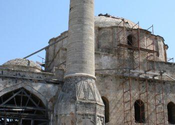 Επισκευές στο τέμενος Ρετζέπ Πασά στη Ρόδο