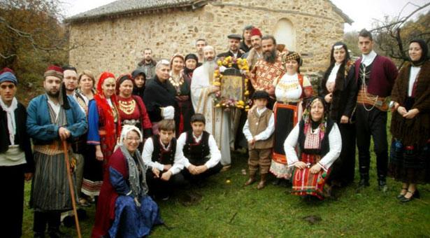 Η Εύξεινος Λέσχη Τρικάλων στον Άγιο Αχίλλειο Πρεσπών