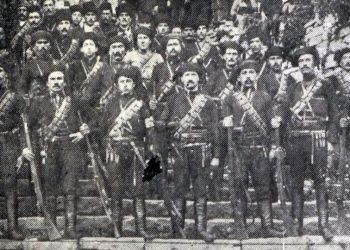 Τσέτες υπό τις εντολές του Μουσταφά Κεμάλ και του Τοπάλ Οσμάν (πηγή: ozhanozturk.com)