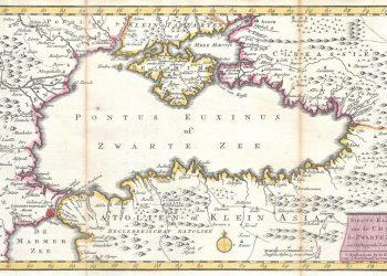 Χάρτης του Εύξεινου Πόντου (Ratelband, 1747)