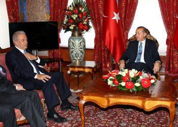 Συνάντηση Ερντογάν - Αβραμόπουλου