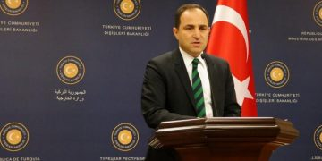 Ο εκπρόσωπος του τουρκικού ΥΠΕΞ Τανζού Μπιλγκίτς
