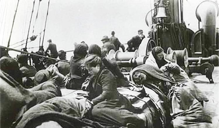 Όταν οι Έλληνες ήταν θύματα δουλεμπόρων και πέθαιναν στα καράβια της προσφυγιάς