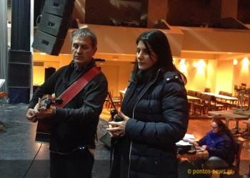 Η Πέλα Νικολαΐδη αποκλειστικά στο pontos-news.gr για τη συνεργασία της με Νταλάρα και Πασχαλίδη