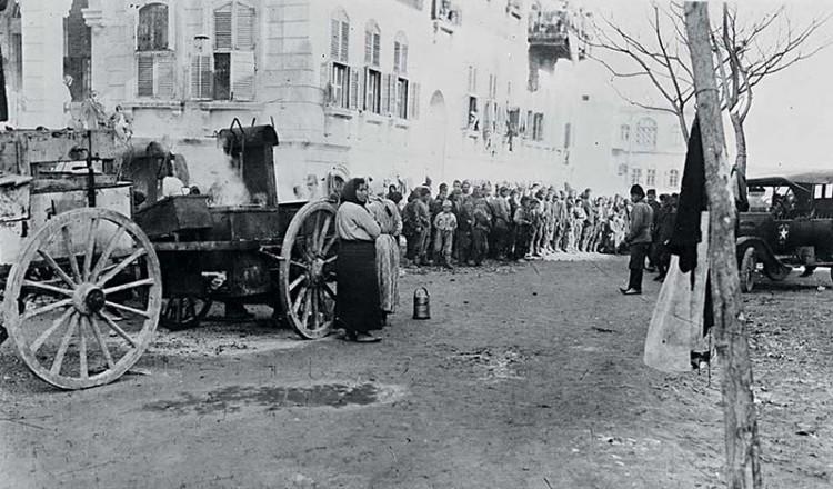 Mικρασιάτες πρόσφυγες του 1922 στη Συρία