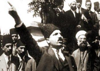 Ο πρόεδρος του Δικαστηρίου Ανεξαρτησίας της Αμάσειας, και αργότερα υπουργός Δικαιοσύνης, Μουσταφά Νεκάτι (πηγή: Dokuz Eylül Üniversitesi)