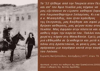 Η Δραπετσώνα, πόλη-μάνα Ποντίων και Μικρασιατών προσφύγων, αποκαλύπτεται στο λεύκωμα «Από τον Πόντο και τη Μικρασία στον Πειραιά, εδώ... στη Δραπετσώνα»