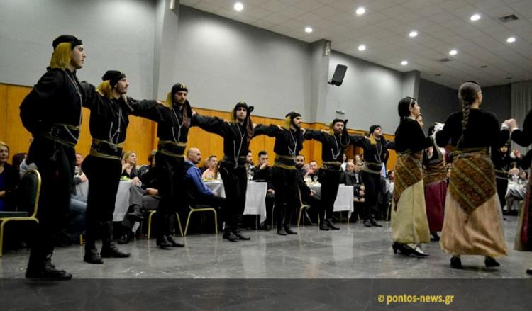 Με λύρα, νταούλι και Αλέξη Παρχαρίδη ο χορός του Συλλόγου Ποντίων «Αργοναύται-Κομνηνοί» (βίντεο-φωτο)