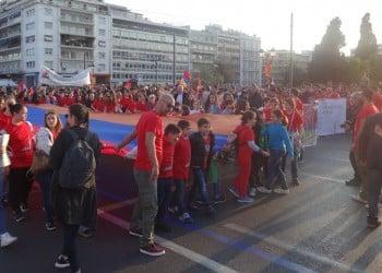 Ηχηρό μήνυμα από την πορεία για την 102η επέτειο της Γενοκτονίας των Αρμενίων στην Αθήνα (βίντεο-φωτο)