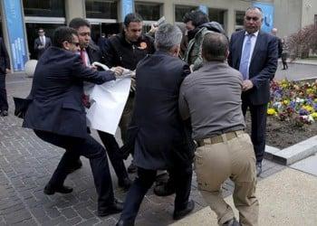 Eντάλματα σύλληψης στις ΗΠΑ για 12 σωματοφύλακες του Ερντογάν