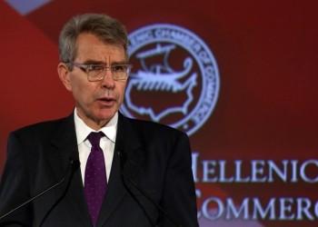 Τζέφρι Πάιατ: Η Ελλάδα έχει εξελιχθεί από πηγή προβλημάτων σε πηγή λύσεων