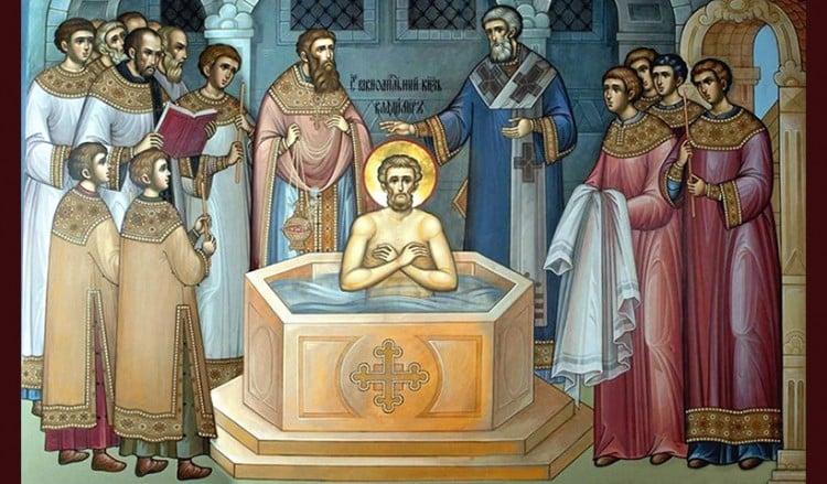 988 μ.Χ.: Οι Ρώσοι βαπτίζονται χριστιανοί από τους Έλληνες