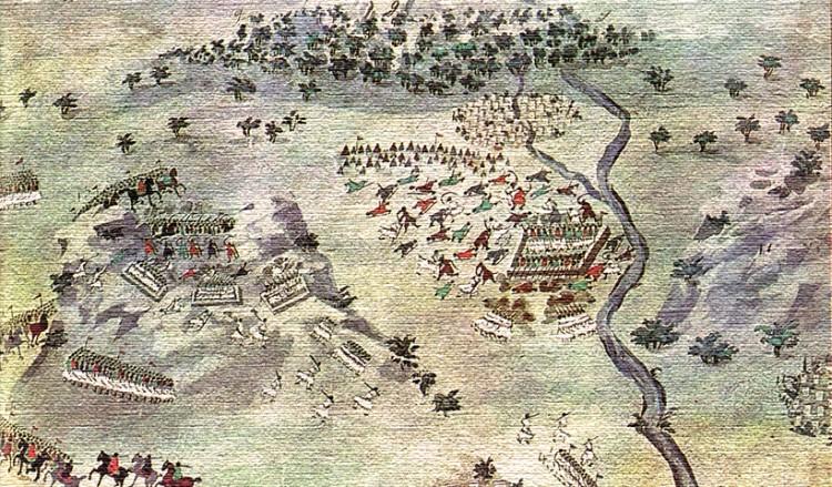 Η μάχη της Καλιακούδας (πηγή: wikiwand.com)