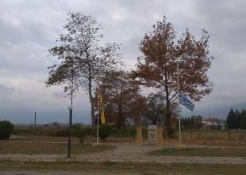 Και στο Ριζοχώρι μεσίστιες οι σημαίες ως ένδειξη πένθους για τον Κωνσταντίνο Κατσίφα