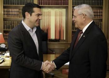 Συνάντηση Τσίπρα με τον Αμερικανό γερουσιαστή Μενέντεζ
