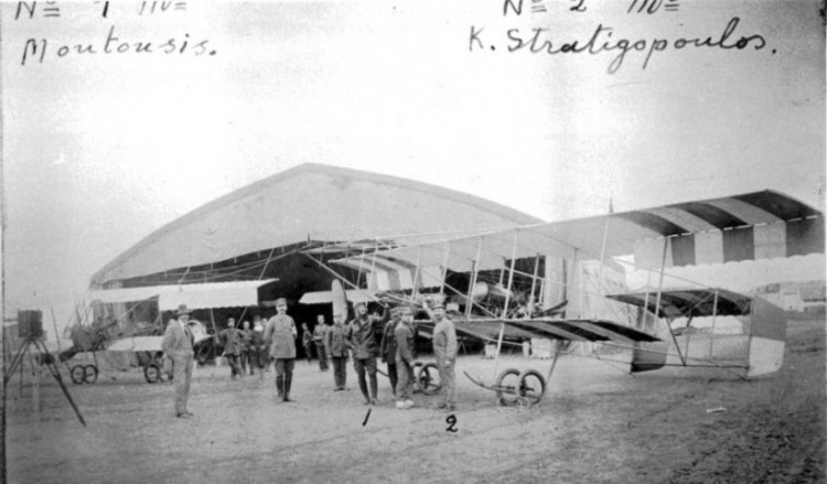 Σαν σήμερα, το 1912, η Πολεμική Αεροπορία απέκτησε τα πρώτα αεροπλάνα της