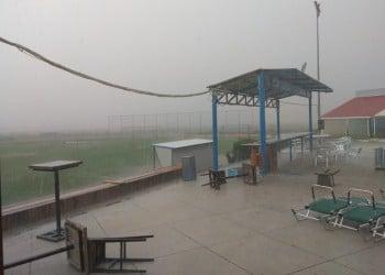 Απίστευτη βροχή στο Κιλκίς – Έκλεισε για λίγο ο δρόμος προς Αγ. Παντελεήμονα (φωτο)