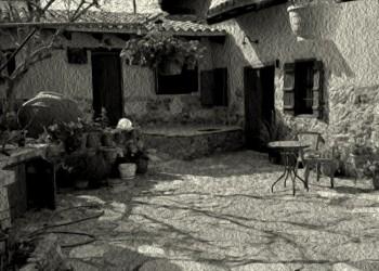 Η καλή νοικοκυρά στον Πόντο φαινόταν από την αυλή της - Cover Image
