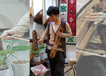 Ο Ιάπωνας που αγάπησε την ποντιακή λύρα, και έμαθε να παίζει μόνος του!