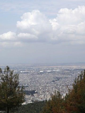 Η Θεσσαλονίκη από το Σέιχ Σου (φωτ.: Πόπη Παπαγεωργίου)