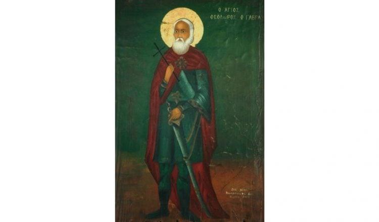 Άγιος Θεόδωρος ο Γαβράς, ένας άγιος του Πόντου