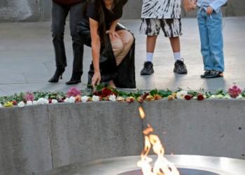 Η Κιμ Καρντάσιαν πιέζει τον Λευκό Οίκο για την αναγνώριση της Γενοκτονίας των Αρμενίων