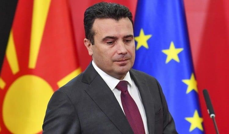 Ο Ζόραν Ζάεφ (φωτ.: EPA)