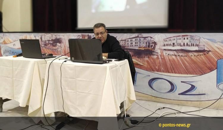 Μια ενδιαφέρουσα βραδιά με τον Νίκο Πετρίδη στην Ένωση Ποντίων Νίκαιας-Κορυδαλλού