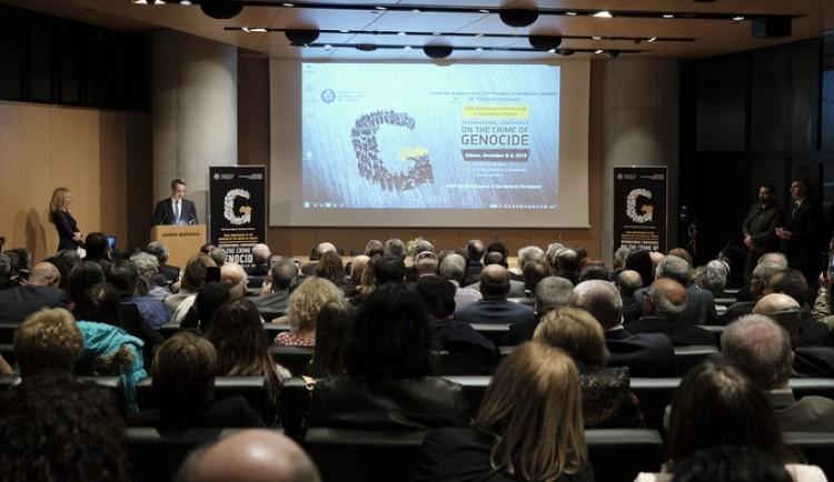 Όλα όσα έγιναν στην έναρξη του διεθνούς συνεδρίου ΠΟΕ και ΚΕΔΕ για το έγκλημα της γενοκτονίας (βίντεο, φωτο)