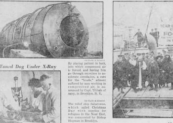 Χριστούγεννα του 1922 πλοίο σαλπάρει από τη Νέα Υόρκη με βοήθεια για τους Έλληνες επιζώντες της Γενοκτονίας