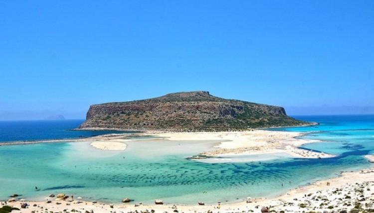 Η παραλία Μπάλος